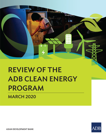 Review of the ADB Clean Energy Program - cover