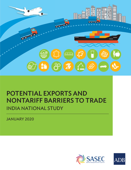 Potential Exports and Nontariff Barriers to Trade - India National Study - cover