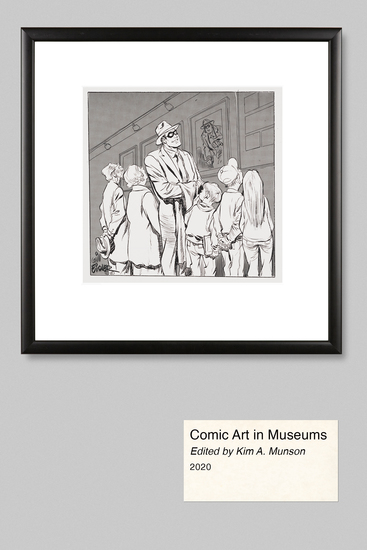 Comic Art in Museums - cover