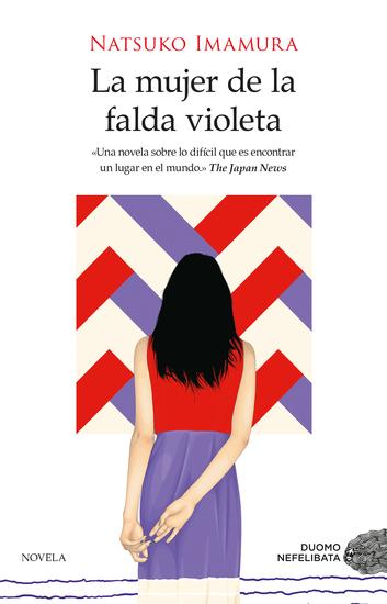 La mujer de la falda violeta - cover