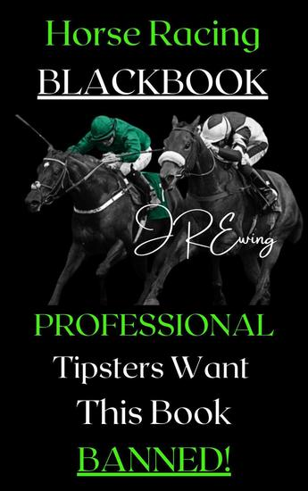 Horse Racing Black Book - cover