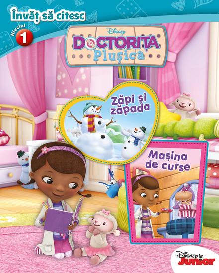 Doctorița Plușica - Învăț să citesc N1 - cover