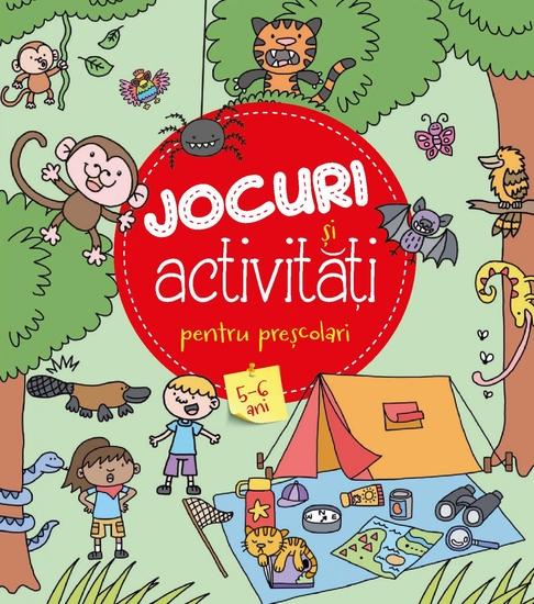 Jocuri și Activități Pentru Preșcolari 5-6 Ani - cover