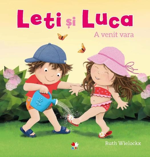 Leti și Luca - A venit vara - cover
