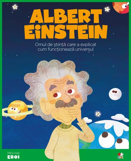 Micii eroi - Albert Einstein - cover