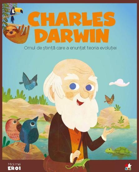 Micii eroi - Charles Darwin - cover