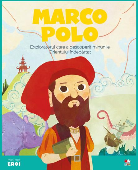 Micii eroi - Marco Polo - cover