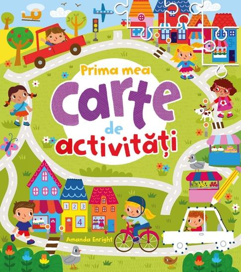 Prima Mea Carte De Activități - cover