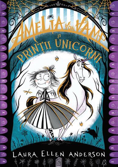 Amelia von Vamp și prinții unicorni - cover