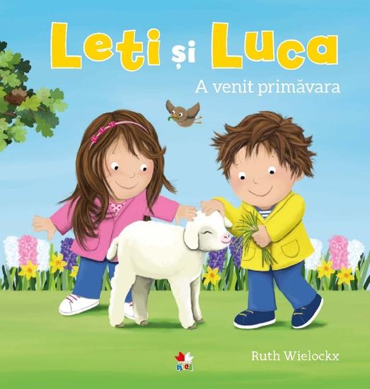Leti și Luca - A venit primavara - cover