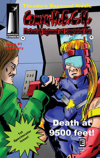 Compu-MECH Quarterly - Death at 9500 Feet! - cover