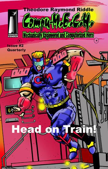 Compu-MECH Quarterly - Head on Train! - cover