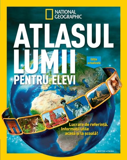Atlasul lumii pentru elevi - cover