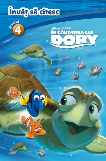 în Căutarea Lui Dory - învăț Să Citesc Nivelul 4 - cover