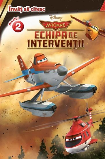 învăț Să Citesc - Echipa de Interventii - Nivelul 2 Avioane - cover