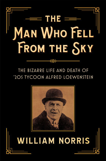 The Man Who Fell From the Sky - The Bizarre Life and Death of '20s Tycoon Alfred Loewenstein - cover
