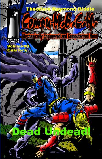Compu-MECH Quarterly - Dead Undead! - cover
