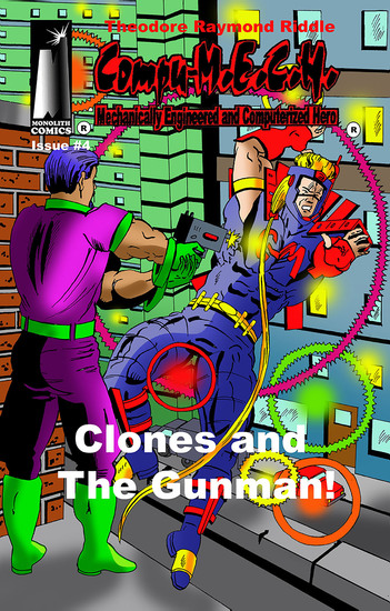 Compu-MECH Quarterly - Clones and The Gunman! - cover