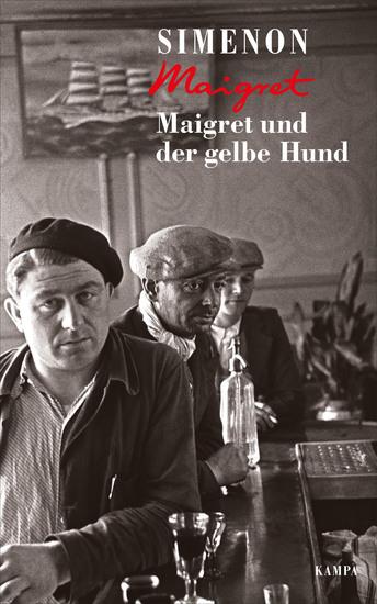 Maigret und der gelbe Hund - cover