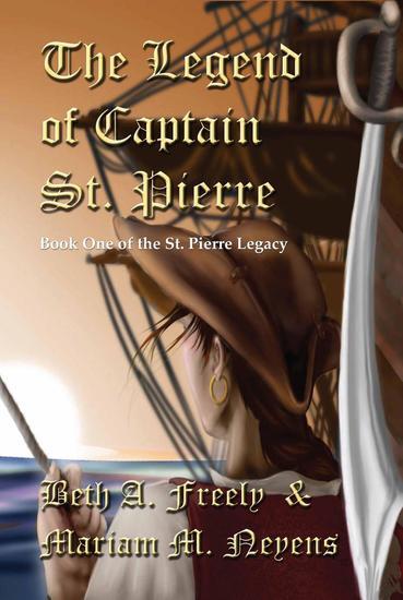 The Legend of Captain St Pierre - St Pierre Legacy #1 - cover
