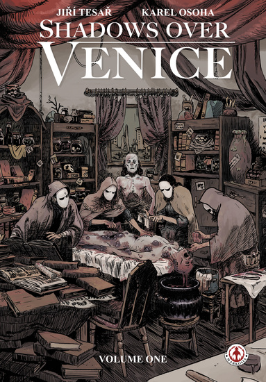 Shadows Over Venice - cover
