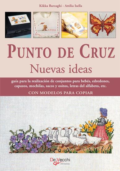 Punto de cruz nuevas ideas - cover