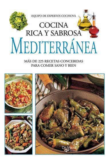 Cocina rica y sabrosa mediterránea - cover