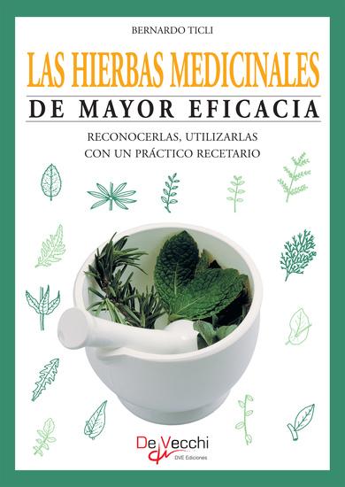 Las hierbas medicinales de mayor eficacia - cover