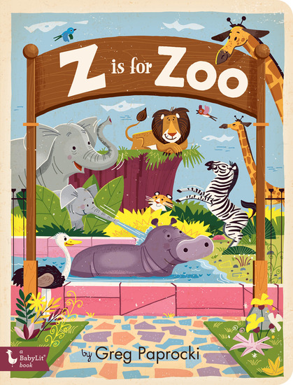 Z Is for Zoo - cover