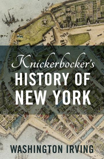 Knickerbocker's History of New York - cover