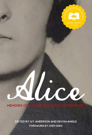 Alice - Memoirs of a Barbary Coast Prostitute - cover