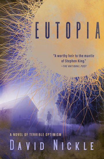 Eutopia - A Novel of Terrible Optimism - cover