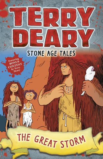 Stone Age Tales: The Great Storm - cover