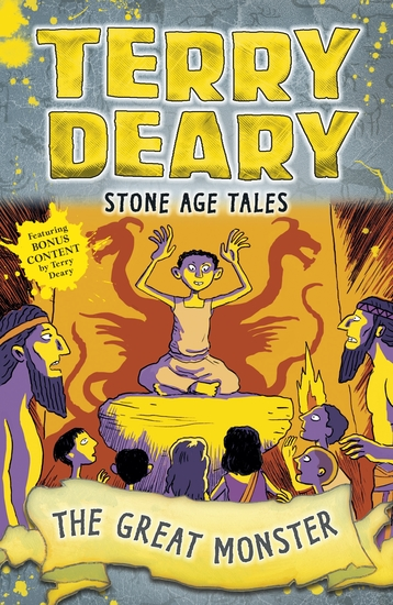 Stone Age Tales: The Great Monster - cover