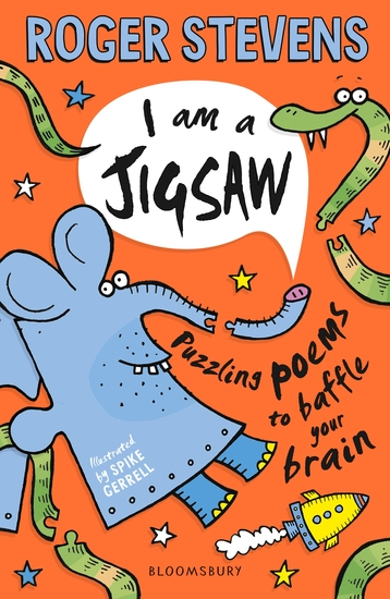 I am a Jigsaw - Puzzling poems to baffle your brain - cover