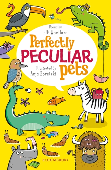 Perfectly Peculiar Pets - cover
