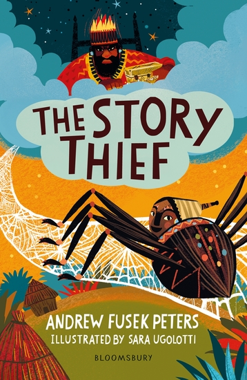 The Story Thief: A Bloomsbury Reader - cover