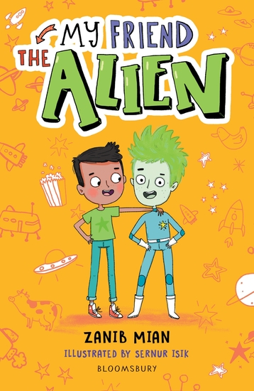 My Friend the Alien: A Bloomsbury Reader - cover