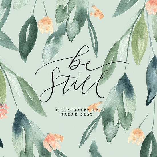 Be Still - cover