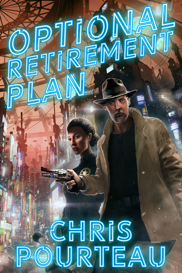 Optional Retirement Plan - A Science Fiction Thriller - cover