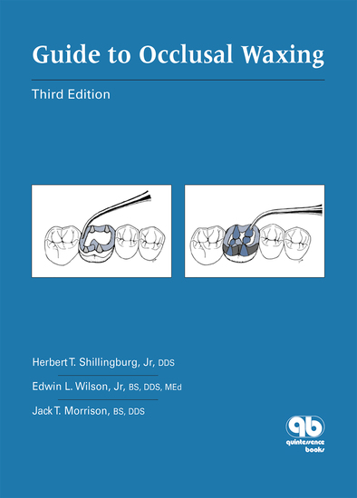 Guide to Occlusal Waxing - Third Edition - cover