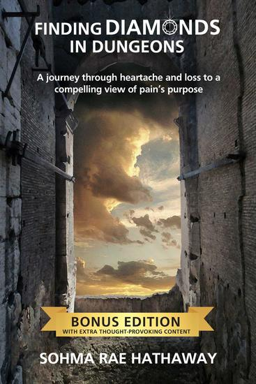 Finding Diamonds in Dungeons - A journey through heartache and loss to a compelling view of pain's purpose - cover