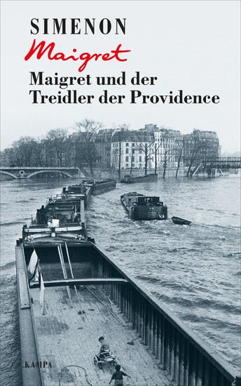 Maigret und der Treidler der Providence - cover