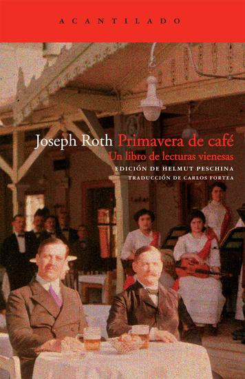 Primavera de café - Un libro de lecturas vienesas - cover