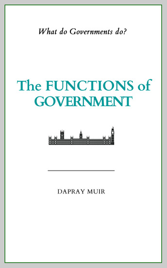 The Functions of Government - cover