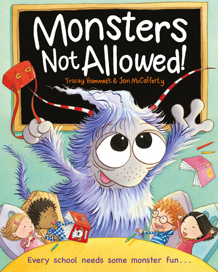 Monsters Not Allowed! - cover