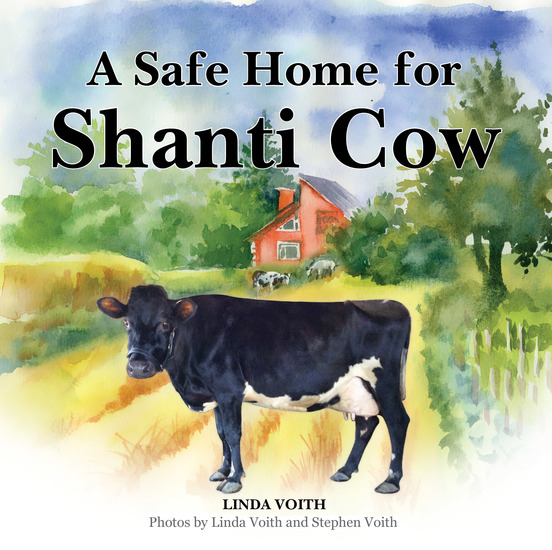 A Safe Home for Shanti Cow - cover