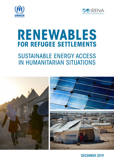 Renewable solutions for refugee settlements - cover