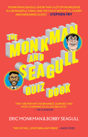 The Monkman and Seagull Quiz Book - cover