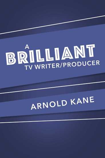 A brilliant tv writer producer - cover